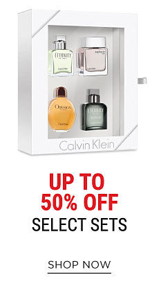 A Calvin Klein fragrance gift set. Up to 50% off select sets. Shop now.