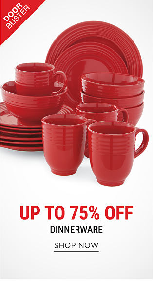 Red Fiesta plates, bowls & mugs. DoorBuster. Up to 75% off dinnerware. Shop now.