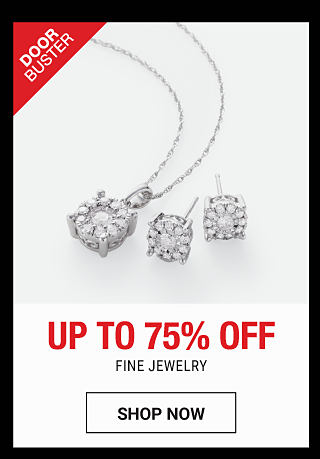 2 fine jewelry rings. DoorBuster. Up to 75% off fine jewelry. Shop now.