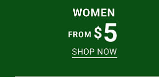 Women. From $5. Shop now.