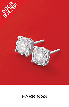 A pair of diamond earrings. DoorBuster. Earrings featuring Effy. Shop now.