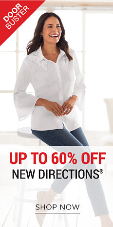 DoorBuster. Up to 60% off New Directions. Shop now.