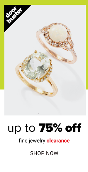 Up to 75% off fine jewelry clearance - Shop Now