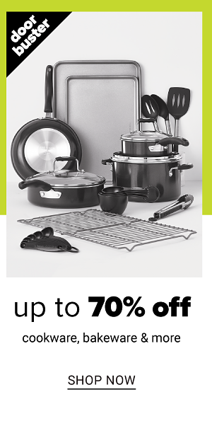 Up to 70% off Cookware and more - Shop Now