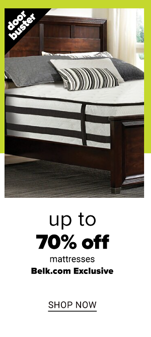 Up to 70% off Mattresses - Shop Now