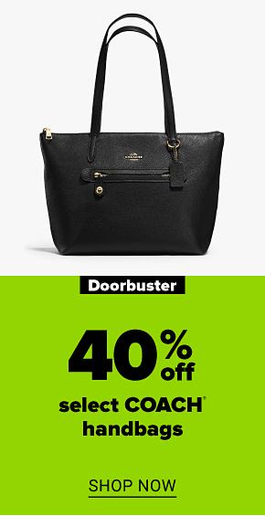 A Coach tabby shoulder bag. Doorbuster 40% off select Coach handbags. Shop now.