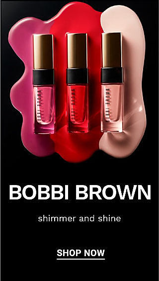A variety of Bobbi Brown makeup products and tools. Bobbi Brown. Shimmer and shine. Shop now.