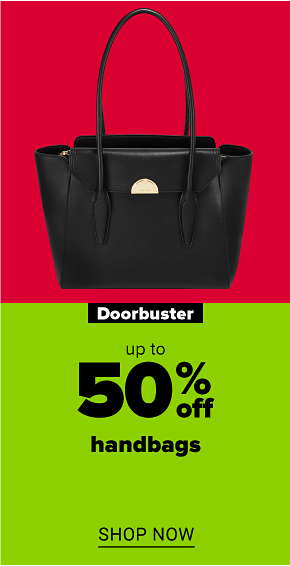 A beige, leather Nine West handbag with a quilted diamond pattern and a metal accent with a leather tie. Doorbuster. Up to 50% off handbags. Shop now.