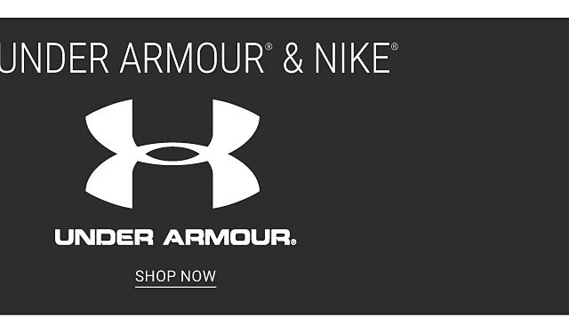 Up to 25% off select Under Armour & Nike. Shop Under Armour.