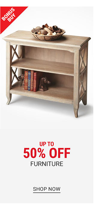 Up to 50% off furniture & lighting. Shop now.