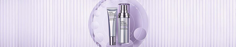 2 bottles of Estee Lauder beauty products.