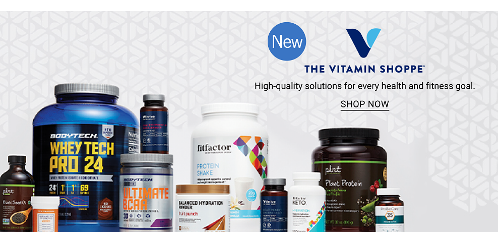 An assortment of vitamins and supplements from BodyTech, FitFactor, plnt and more. New. The Vitamin Shoppe. High-quality solutions for every health and fitness goal. Shop now.
