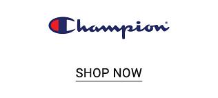 The Champion logo. Shop now.