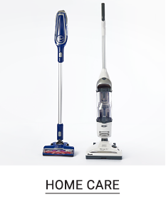 Two vacuums. Shop home care.
