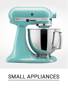 A teal standing mixer. Shop small appliances.