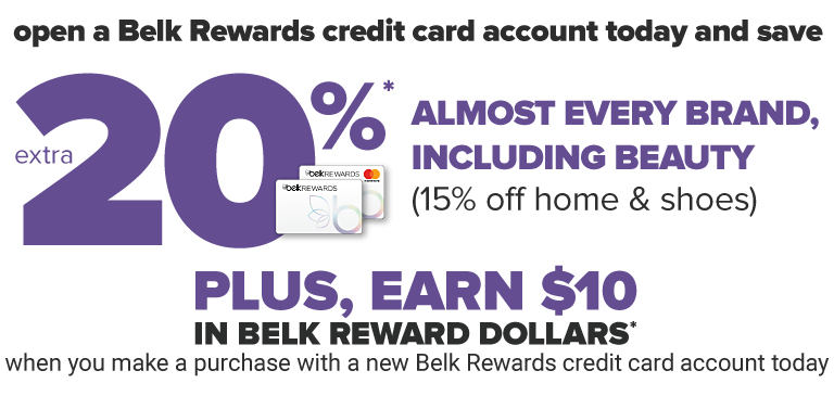 Belk 1800 Number >> Belk Credit Card Rewards Benefits Belk
