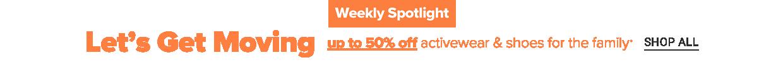 Weekly spotlight. Shop all.