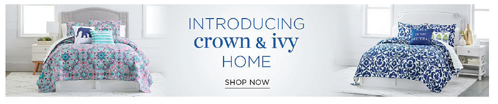 introducing crown & ivy home