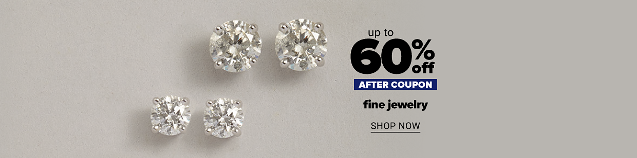 Three pairs in different sizes of classic diamond stud earrings in 14K white gold. Up to 60% off after coupon fine jewelry. Shop now.