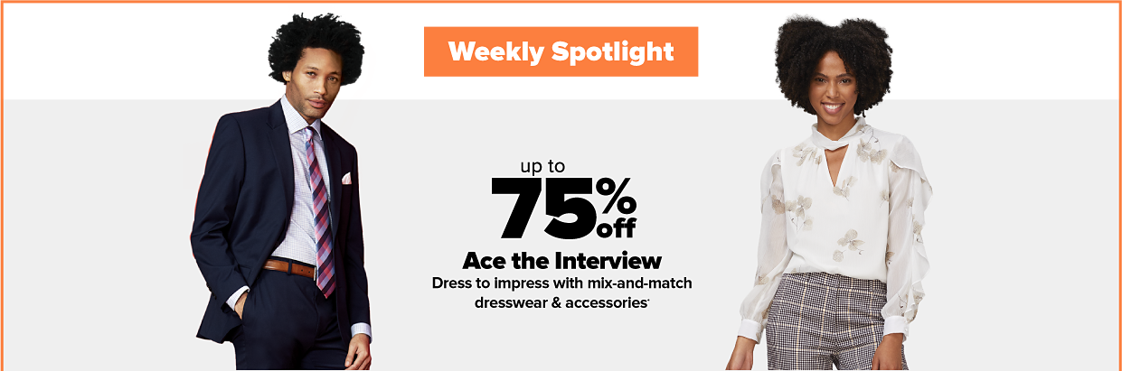 Weekly Spotlight Ace the Interview