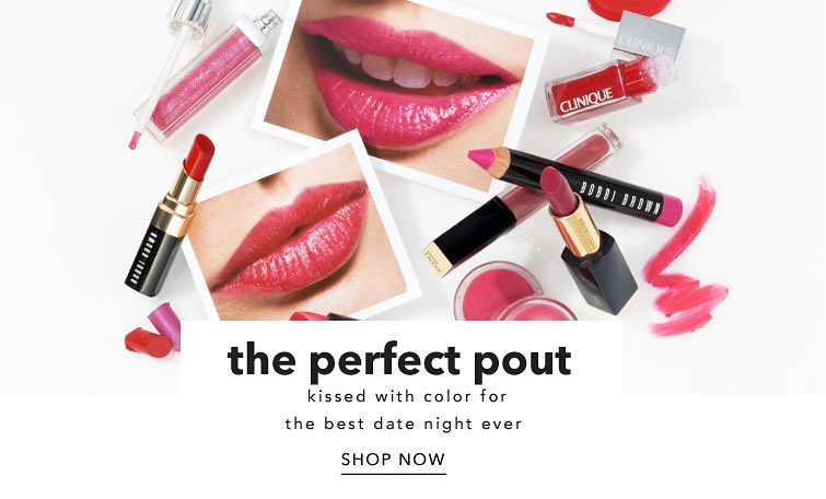 The perfect pout kissed with color for the best date night ever. Shop now.