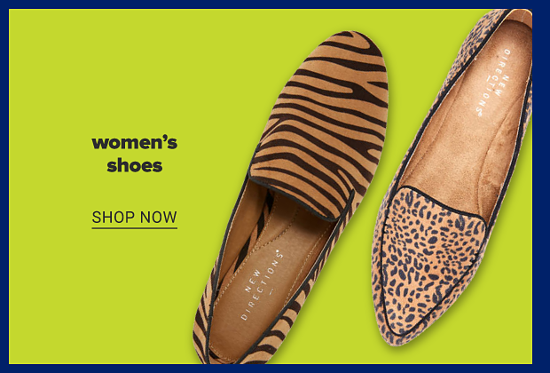 Tiger Candace Flats and Cheetah Ramelle loafers. Women's shoes. Shop now.