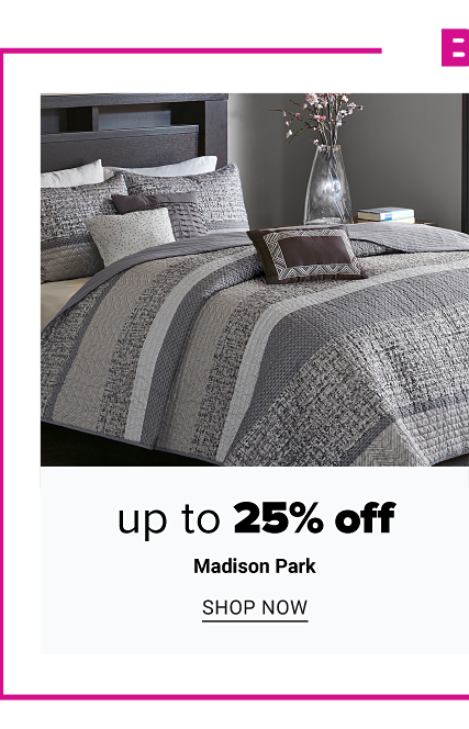 Belk dot com Exclusives. A bed made with a multi colored patterned print quilt & matching pillows.Up to 25% off Madison Park. Shop now.