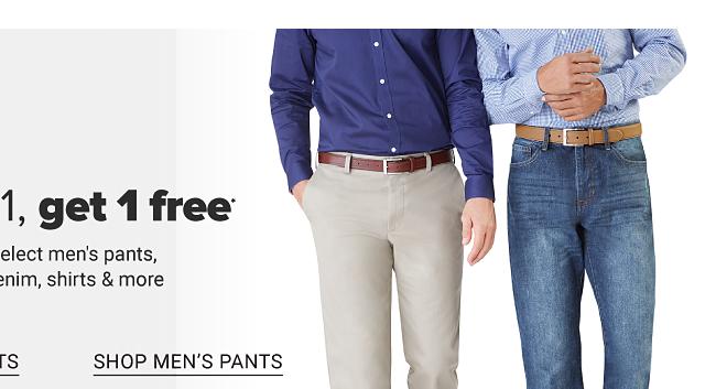 Shop men's pants.