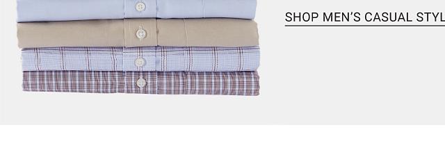 Shop men's casual styles.