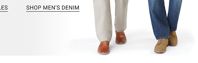 Shop men's denim.