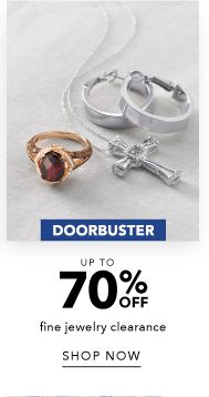 Doorbuster - Up to 70% off Fine Jewelry Clearance - Shop Now
