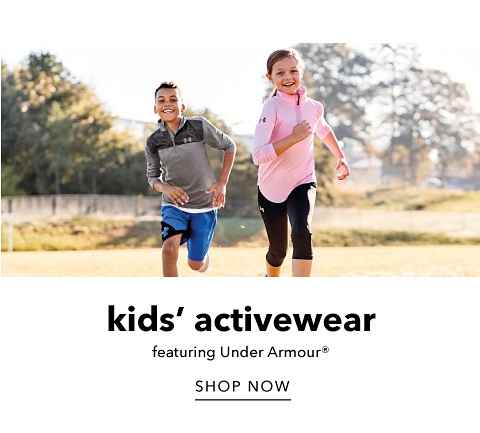 Kids' Activewear featuring Under Armour - Shop Now