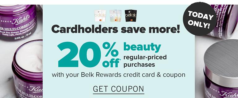 belk.com - Get 20% Off on Beauty