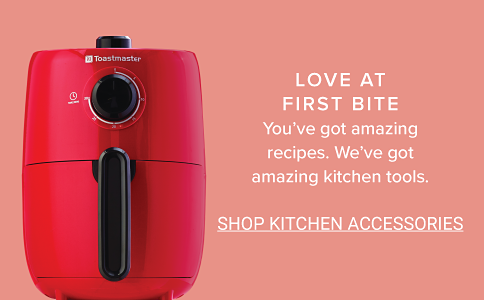 Love at first bite. You've got amazing recipes. We've got amazing kitchen tools. Shop Kitchen Accessories.