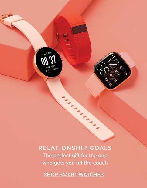 Relationship goals. The perfect gift for the one who gets you off the couch. Shop Smart Watches.