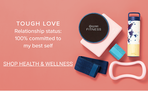 Tough love. Relationship status: 100% committed to my best self. Shop Health & Wellness.