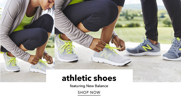 athletic shoes featuring New Balance Shop Now