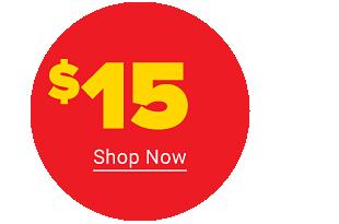 Shop $15