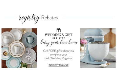 Wedding u0026 Gift Registry. Bring your love home. Get  sc 1 st  Belk & Registry Guide | Wedding Registry | belk