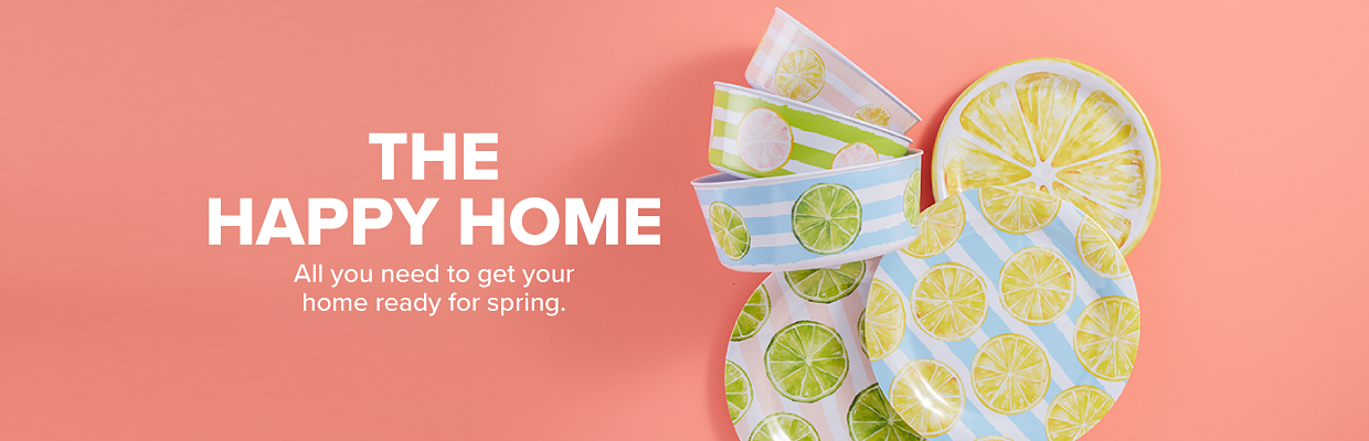 The Happy Home. All you need to get your home ready for spring.