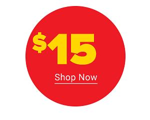 $15 Shop Now.