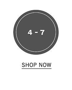 Boys size 4 through 7. Shop now.