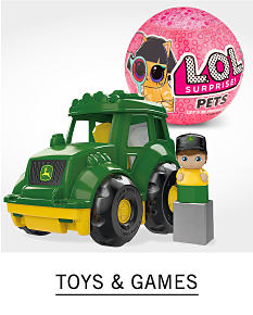 A toy truck and a toy pet. Shop toys and games.