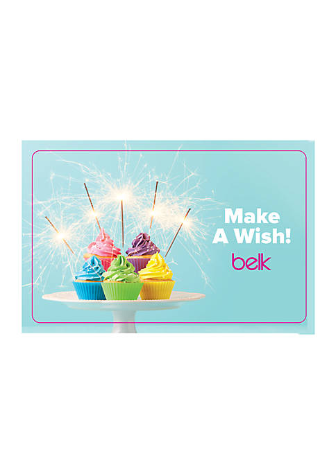 Happy Birthday Gift Card Belk