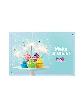 Belk Happy Birthday Gift Card