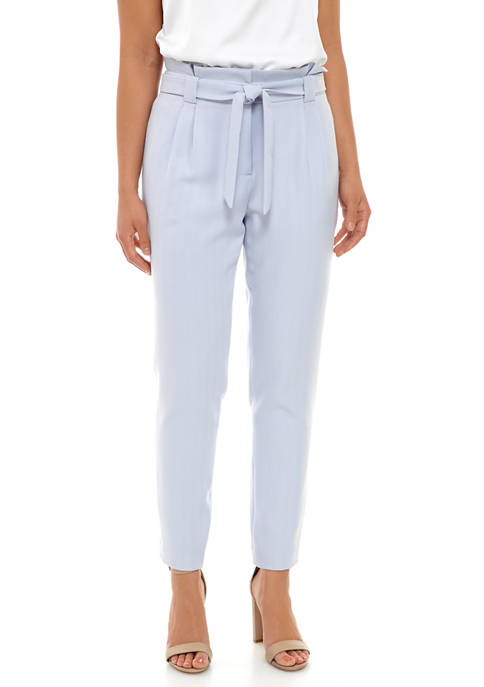 Calvin Klein Womens Novelty Tie Waist Pants