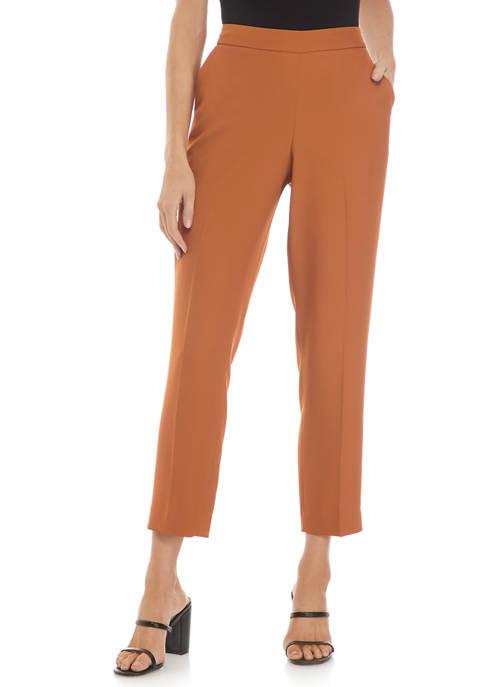 Calvin Klein Soft Suiting Straight Leg Pants