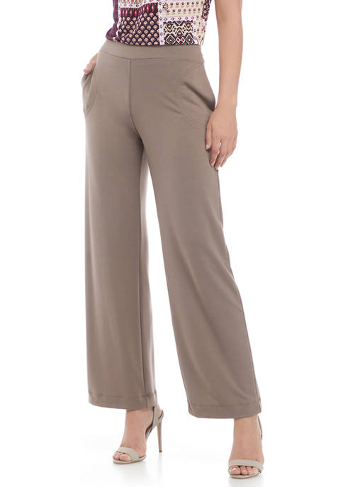 Pull On French Terry Pants