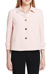 Button Front Short Jacket