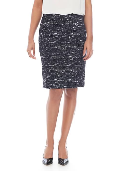 Calvin Klein Ponte Printed Skirt